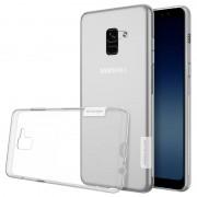 Capa em TPU Nillkin Nature 0.6mm para Samsung Galaxy A8 (2018) - Transparente