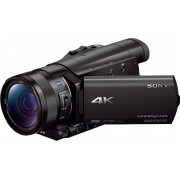 Sony FDR-AX100 4K (Ultra-HD)/1080p (Full HD)/720p (HD-ready) Camcorder, WLAN, NFC