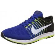 Nike Men's Flyknit Streak Royal Blue Running Shoes - 7 UK/India (41 EU)(8 US)(835994-001)