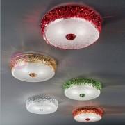 Vetrilamp Ca' Del Sole Plafoniera In Vetro Di Murano D. 28 Design Moderno