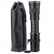 420-800mm GAMA ALTA para Nikon para Canon cabeza Telescopio Lente de enfoque