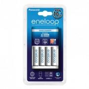 Punjač baterija Panasonic (10h) sa 4 bat. Eneloop AA (K-KJ51MCC40E) 18776**