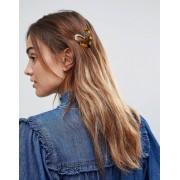 ASOS DESIGN Заколка для волос с черепаховым сердцем ASOS - Мульти