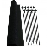 Gun Organizing Rifle Rods - Rifle Rod Starter Kit, 10-Pak