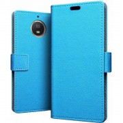 Just in Case Wallet Motorola Moto G5S Plus Book Case Blauw