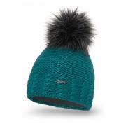 Zimowa czapka damska PaMaMi - Morski
