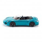 Siku sportwagen Porsche 911 Turbo S Convertible 1:50 blauw