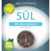 AWA superfoods Himalájská čierna soľ jedla RAW 250 g