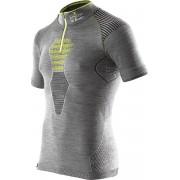 X-Bionic - tričko T APANI MERINO black/grey/yellow Velikost: XL