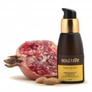 Soultree Gel para el contorno de ojos con granada y aceite de almendras