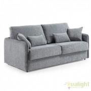 Canapea moderna cu saltea memory foam KOMODO 140 gri S299KA03 JG