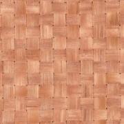 Világos gyékény mintás öntapadós tapéta