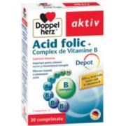 Acid folic +complex de vitamine b 30cpr DOPPEL HERZ