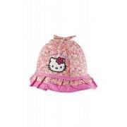Hello Kitty solhatt barn (Röd, 50)