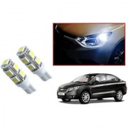 Auto Addict Car T10 9 SMD Headlight LED Bulb for Headlights Parking Light Number Plate Light Indicator Light For Chevrolet Sail