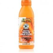 Garnier Fructis Papaya Hair Food sampon pentru regenerare pentru par deteriorat 350 ml