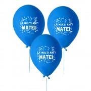 Baloane Albastre Personalizate Cu Text