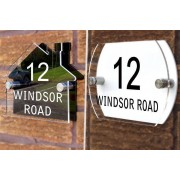 SiGN Personalised House Sign - 2 Designs!