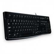 Logitech K120 Wired Keyboard (Black)