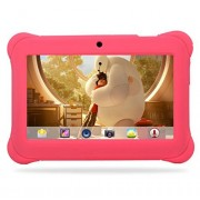 Tablet 7 Inch For Kids Quad Core HP Android 4.4 KitKat Dual Camera WiFi Case Pink