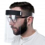 Viziera protectie fata 3MK Protective Helmet Reglabila Policarbonat Transparenta
