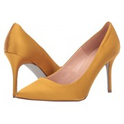 JCrew Satin Basic Elsie Pump with Glitter Sole Bronzed Ochre