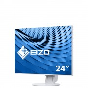"Monitor IPS, EIZO 23.8"", EV2451-WT, 1000:1, 5ms, DVI/HDMI/DP, USB, Speakers, White, FullHD"