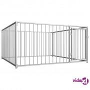 vidaXL Vanjski kavez za pse 200 x 200 x 100 cm