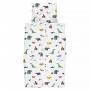 Snurk Paper Zoo dekbedovertrek 140x200