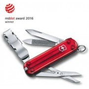 Victorinox NailClip 580, 65mm, Ruby, Folding Box Swiss Army Knife(Red)