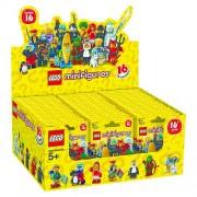 Set 6138974 COMPLETE DOOS 60 Minifigs serie 16 NIEUW loc