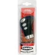 Nuca schimbator COBRA negru cu cusaturi albastre Lampa