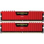 Kit Memorie Corsair Vengeance LPX Red 2x8GB DDR4 4000MHz CL19 Dual Channel