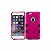 Funda Doble Protector Case Uso Rudo para iPhone 6 Plus-Rosa