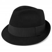 Fawler Chapeau Fedora Kurt noir