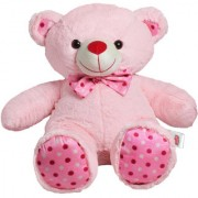 Ultra Polka Teddy Soft Toy 24 Inches - Pink