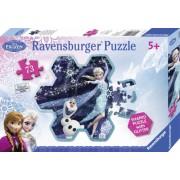 Puzzle Frozen fulgul de zapada al Elsei, 73 piese Ravensburger