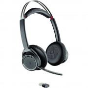 Plantronics UC B825 Telefonske slušalice Bluetooth Bežične Na ušima Crna