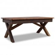 vidaXL Coffee Table Solid Reclaimed Wood 110x60x45 cm