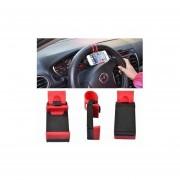 Soporte Para Celular - Holder Smart Clip Soporte Para Timon De Auto Universal Para Celular - Negro