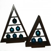 Set bradut lemn - Blue