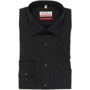 Marvelis Modern Fit Hemd Extra langer Arm (69cm) schwarz