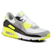Обувки NIKE - Air Max 90 CD0881 103 White/Particle Grey/Volt Black
