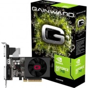 Placa video Gainward GeForce® GT 710, 2GB GDDR5 , HDMI , VGA , DVI , 64-bit