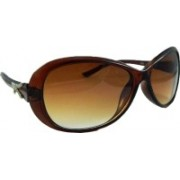 Els Oval Sunglasses(Brown)