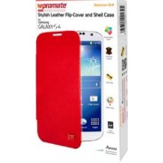 Promate Sansa-S4 Stylish Leather Flip-Cover and