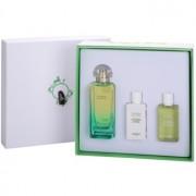 Hermès Un Jardin Sur Le Nil подаръчен комплект III. тоалетна вода 100 ml + мляко за тяло 40 ml + душ гел 40 ml