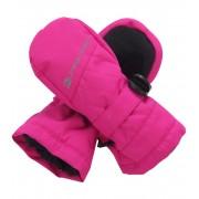ALPINE PRO PATO Dětské rukavice KGLH008411 fuchsiová XS