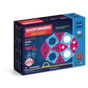 Joc De Constructie Magnetic Magformers - Educational - Set Mate (42 Piese)