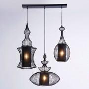 Kare Opulent hanging light SWING IRON TRE